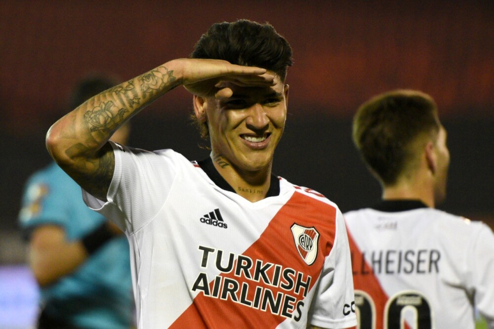 Jorge Carrascal, brilló con River Plate