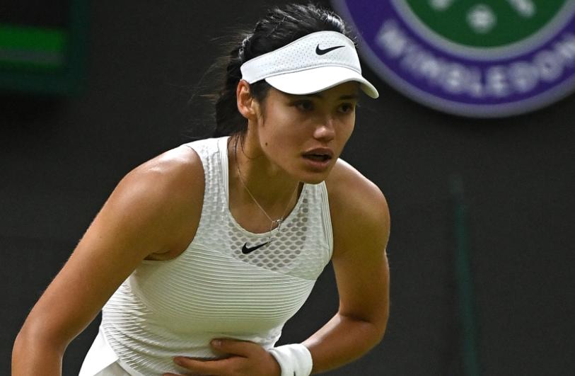 Emma Raducanu fue la revelación de Wimbledon 2021.