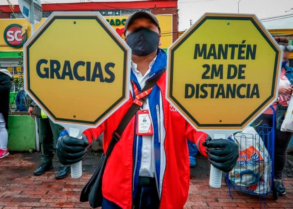 375750_Salud preventiva durante la pandemia en Bogotá // Foto: Facebook Alcaldía de Bogotá