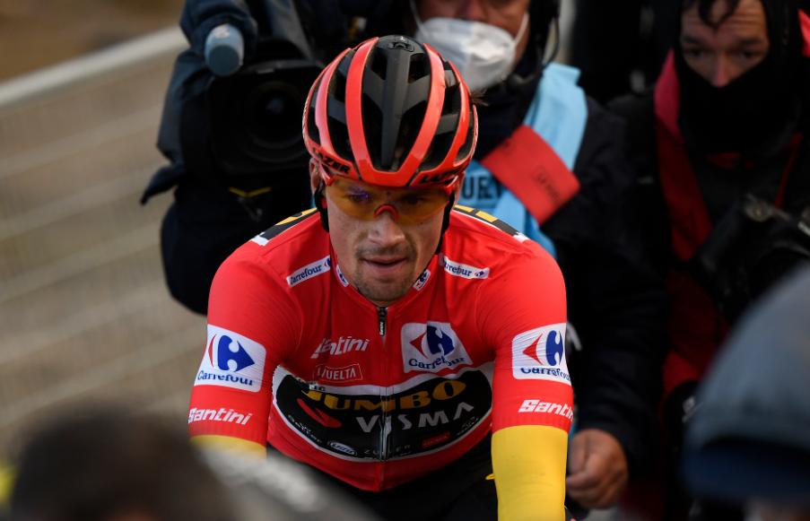 Primoz Roglic, campeón virtual de la Vuelta a España 2020.