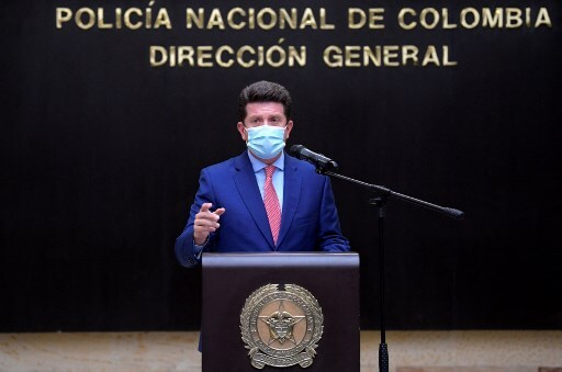 Ministro de defensa, Diego Molano