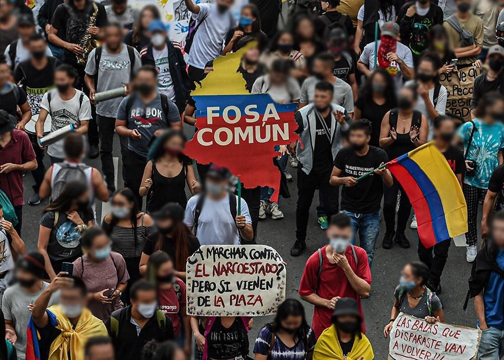 Protestas en Colombia :: Foto: AFP.jpeg