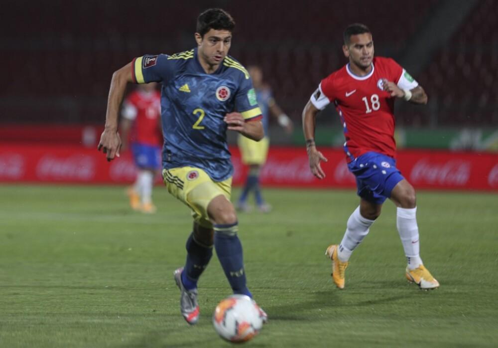 Stefan Medina vs Chile