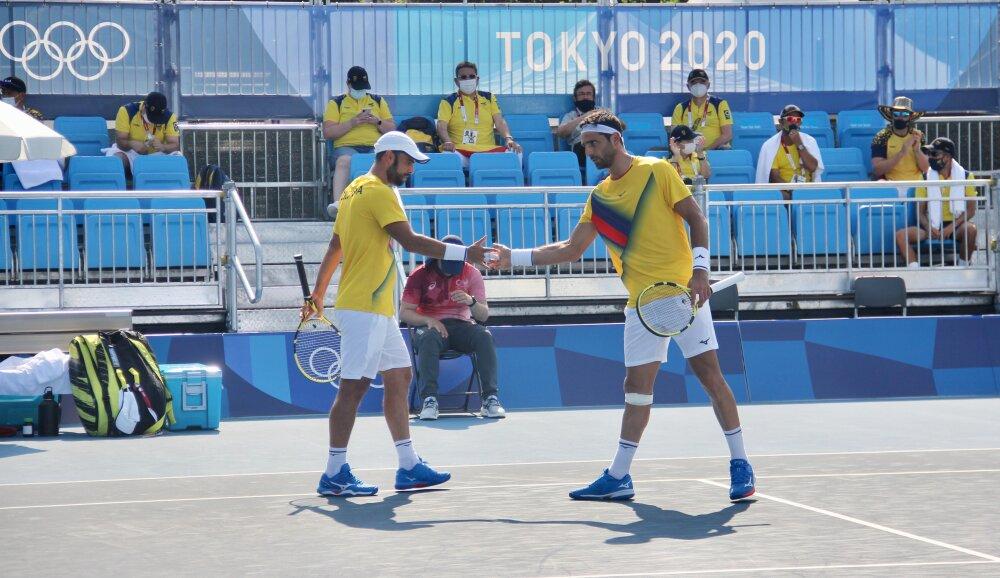 Juan Sebastián Cabal y Robert Farah. Foto Twitter @OlimpicoCol.jpg