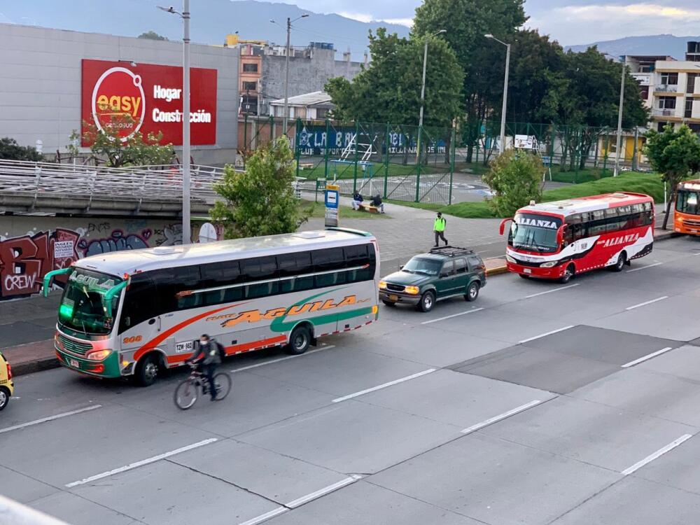 Buses intermunicipales Bogotá