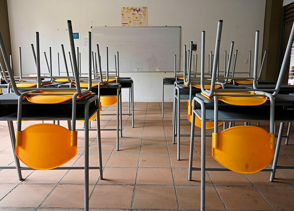 Colegios sin clases presenciales - imagen de referencia