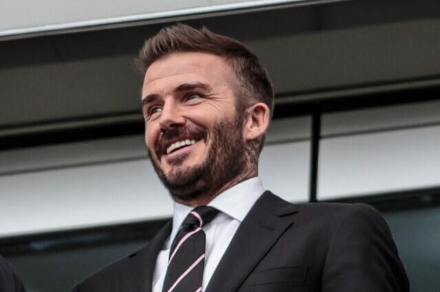 335268_David Beckham, exjugador británico.