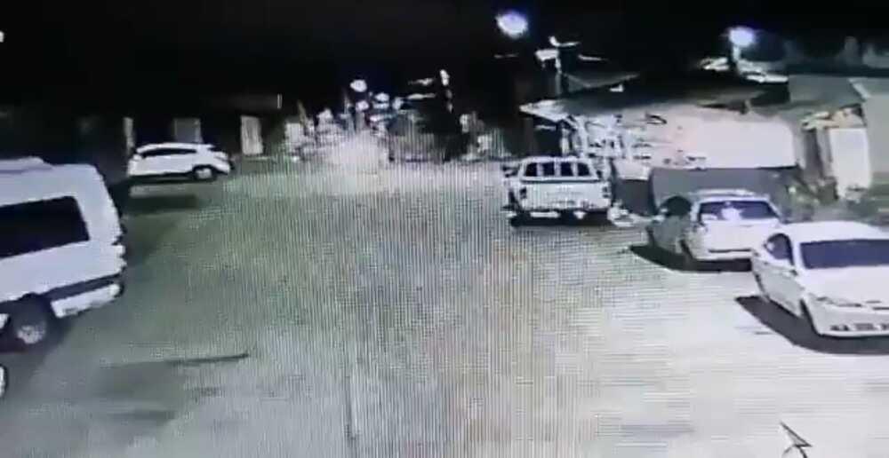 Ataque estación de Policía Valle Foto captura de video.