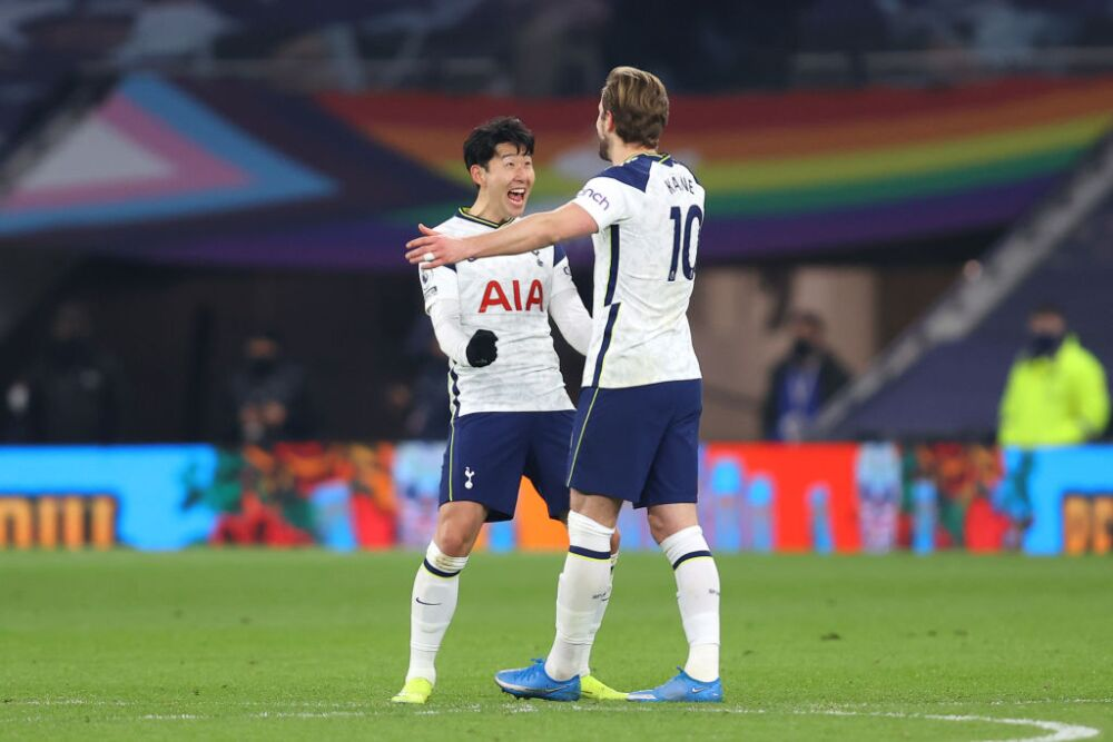 Harry Kane, celebra - Tottenham Hotspur v Crystal Palace - Premier League