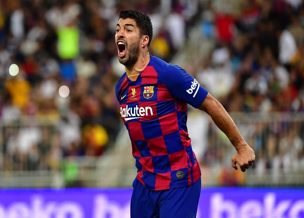 352609_BLU Radio. Luis Suárez, Supercopa de España / Foto: AFP