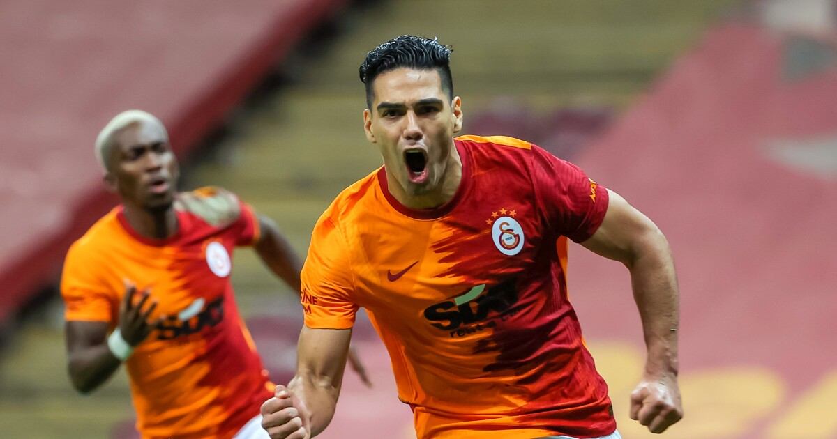 El 'Tigre' está rugiendo con el Galatasaray: Radamel Falcao demostró que está finito con el gol