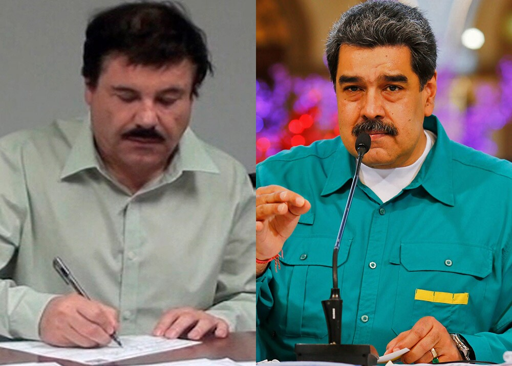 'Chapo' Guzmán - Nicolás Maduro