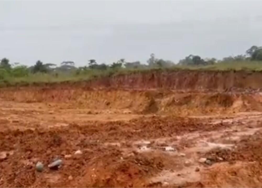 Lote en Mocoa donde construirán viviendas Foto captura de video.jpg