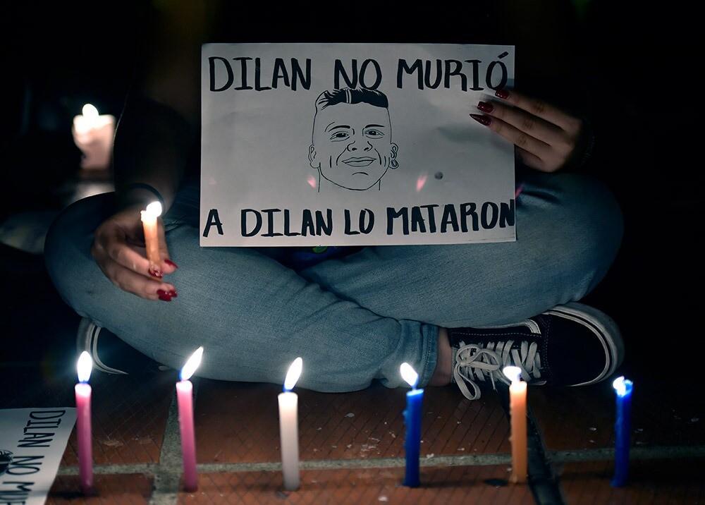 Homenaje a Dilan Cruz
