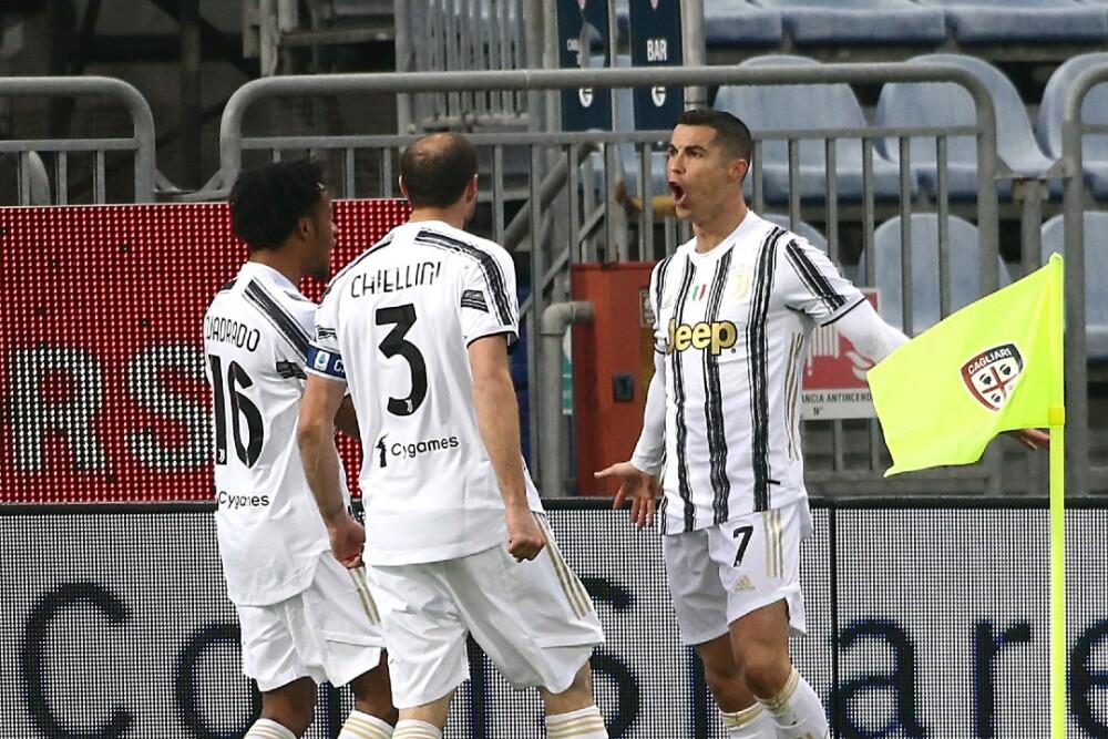 Cristiano Ronaldo Cagliari vs Juventus