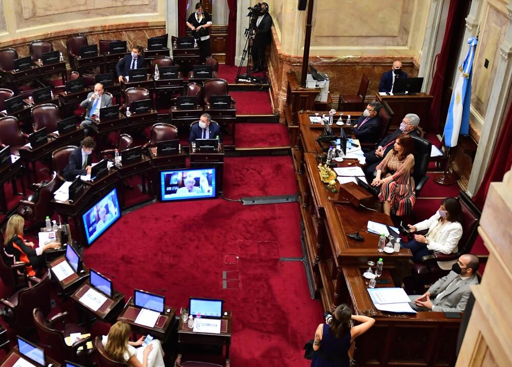 Senado de Argentina Foto AFP.jpg