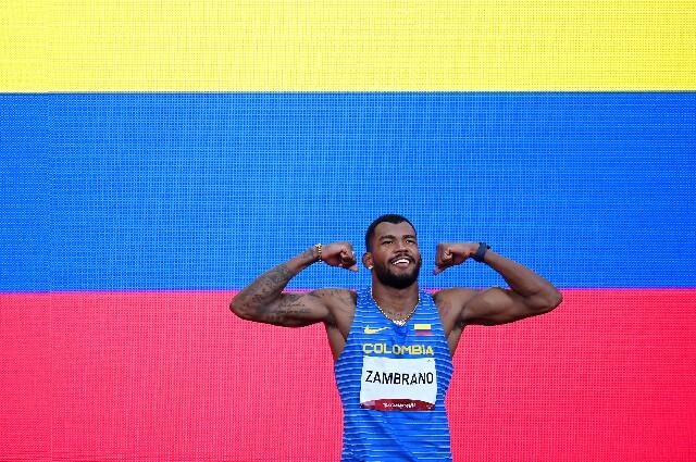 Anthony Zambrano ganó medalla de plata en los Juegos Olímpicos de Tokio 2020