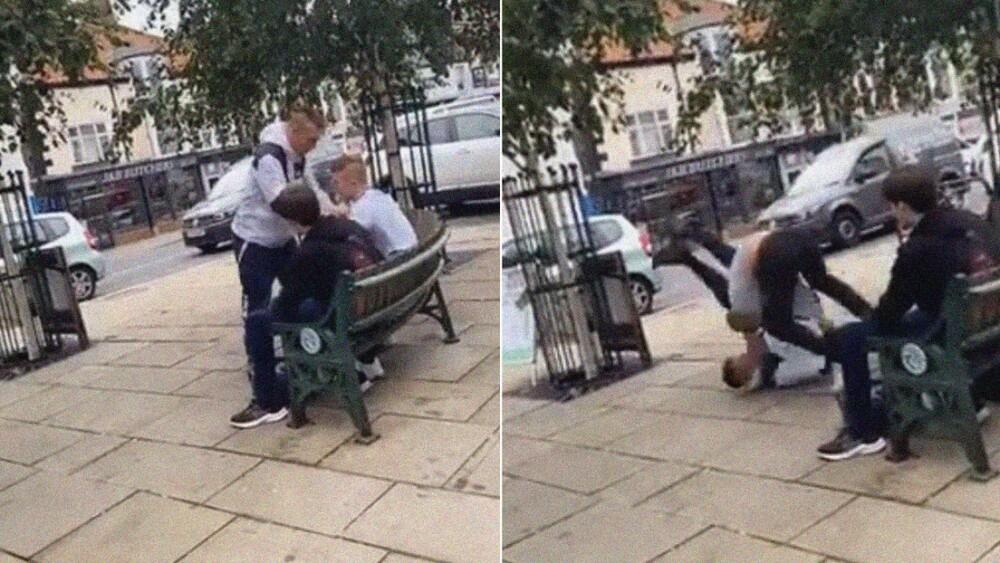 Hombre ataca a joven de 16 años y le muerde la oreja