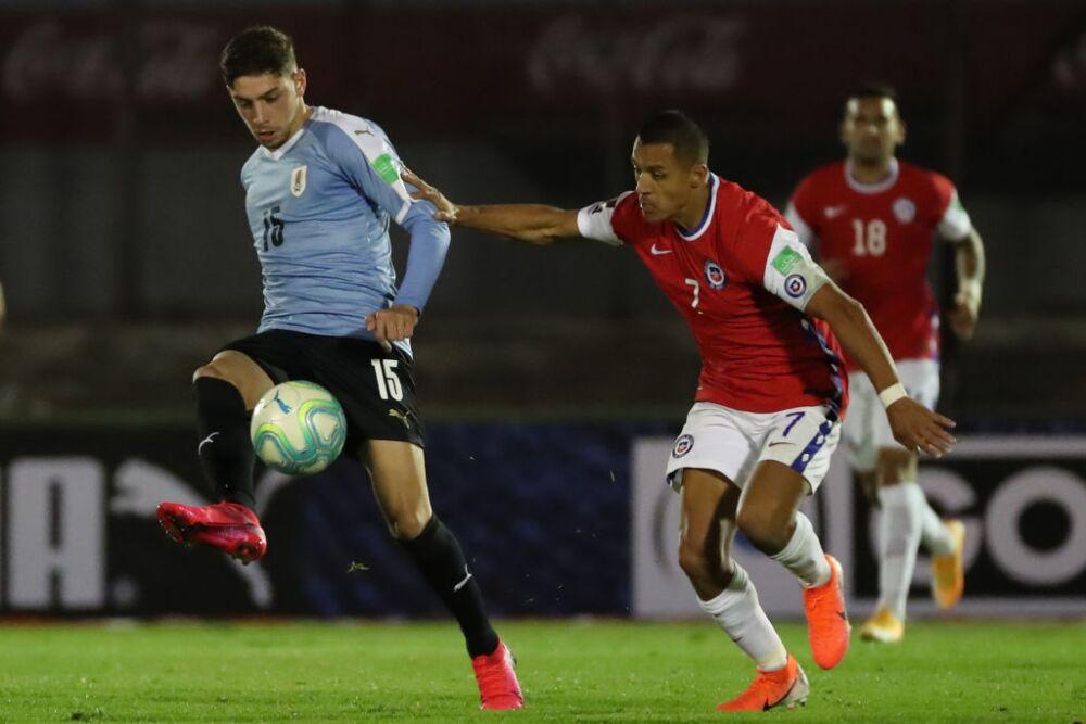 Fede Valverde, jugador del Selección de Uruguay