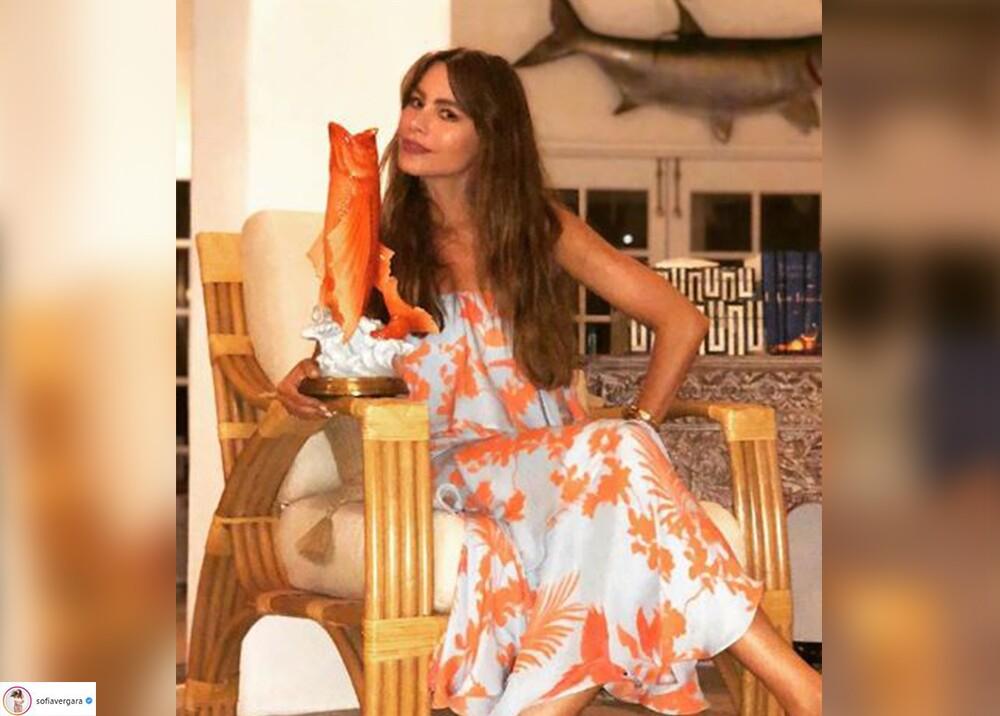 7364_La Kalle. Sofía Vergara en traje de baño / Foto: Instagram
