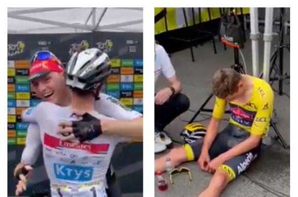 La etapa 7 del Tour de Francia dejó dos momentos conmovedores.