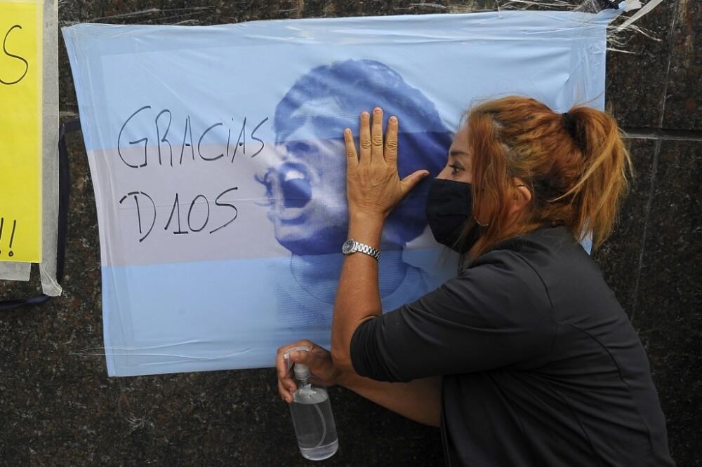 Fallecimiento de Diego Maradona
