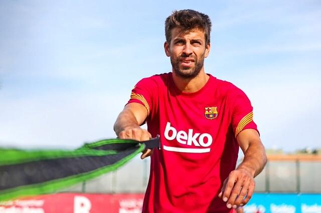 Gerard Pique, futbolista español