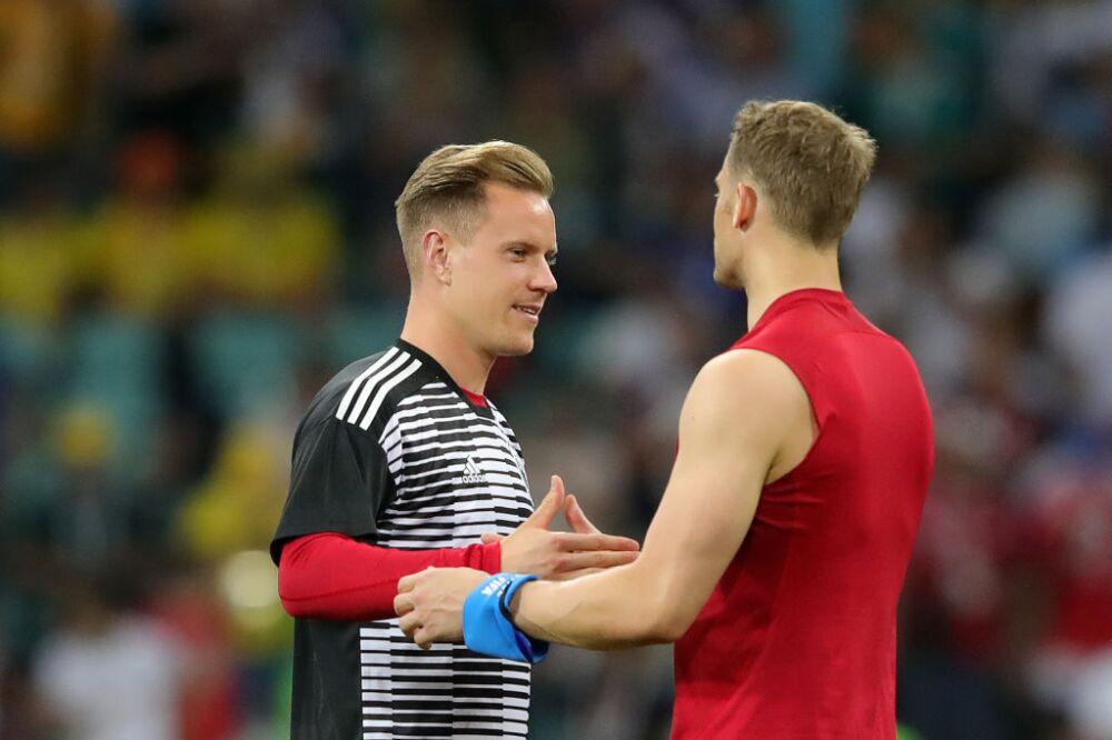 Manuel Neuer y Marc-André ter Stegen, arqueros Selección de Alemania