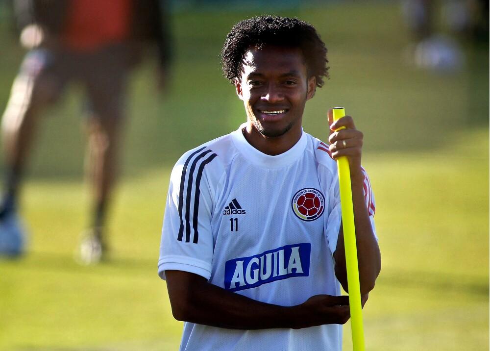 Juan Guillermo Cuadrado Selección Colombia aFP.