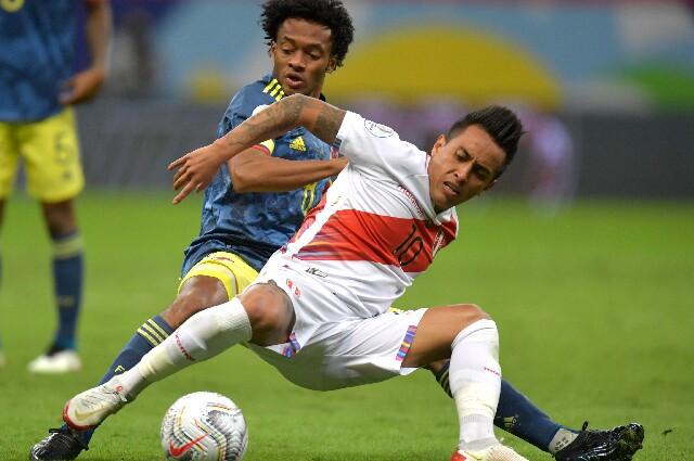 Colombia contra Perú, partido por el tercer lugar de la Copa América