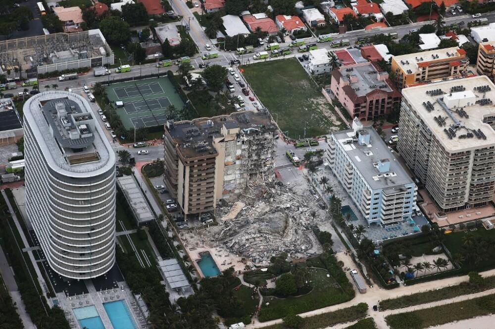 Tragedia por desplome de edificio en Miami