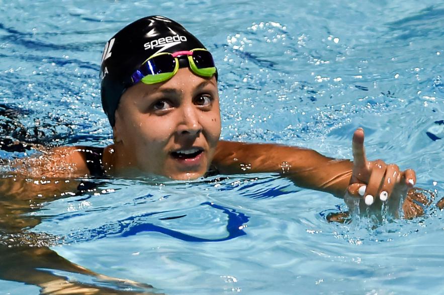 Isabella Arcila estará en las pruebas de natación de los juegos Olímpicos de Tokio 2020.