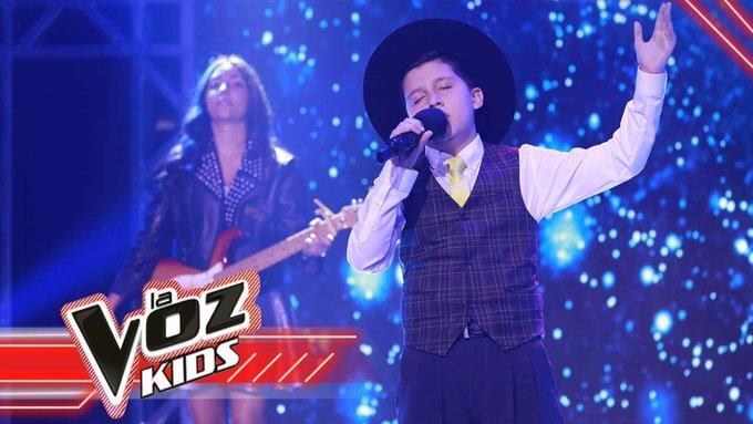 Josué es el tercer finalista en La Voz Kids