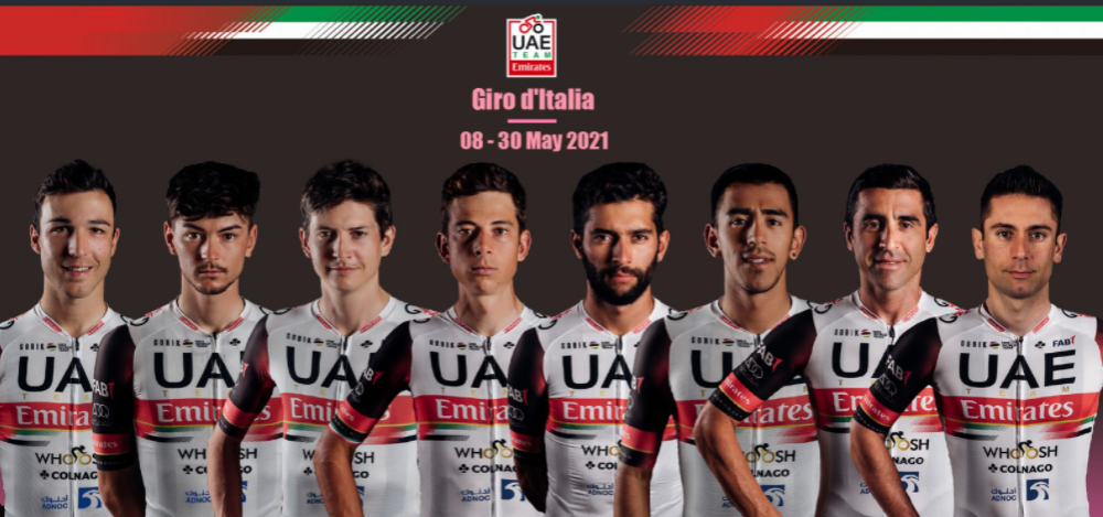 Fernando Gaviria y Juan Sebastián Molano estarán en el Giro de Italia.