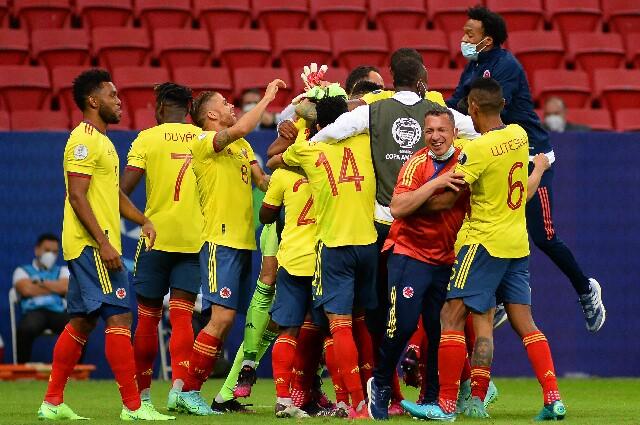 Selección Colombia, en la Copa América