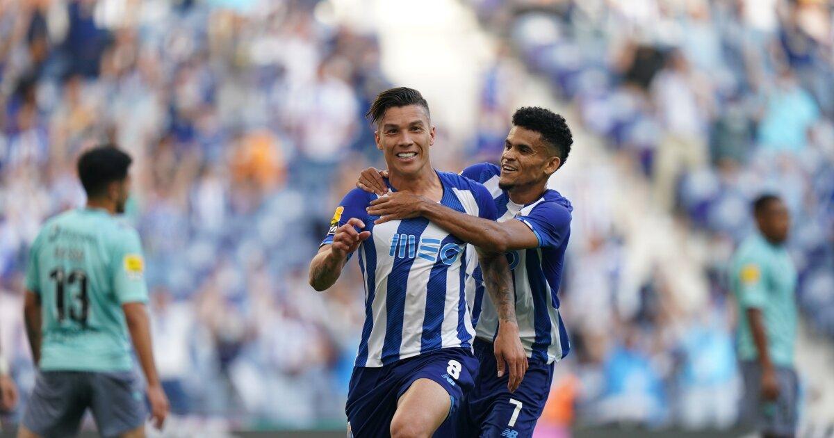 Vea el gol de Mateus Uribe hoy, Porto vs Arouca, en la liga de Portugal