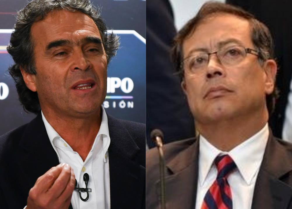 342498_BLU Radio. Sergio Fajardo y Gustavo Petro. Foto: BLU Radio y AFP