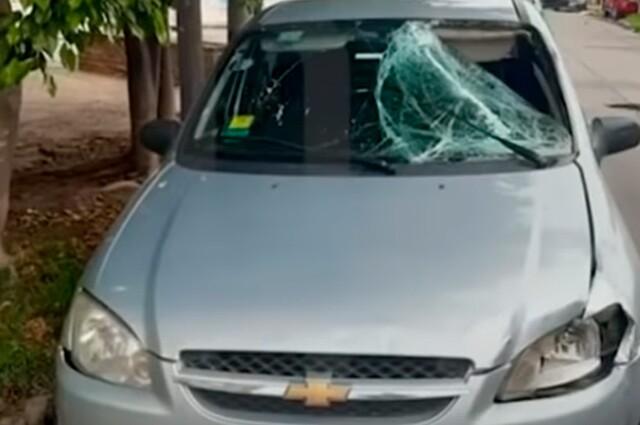 conductor mata a mujer y la abandona en la via