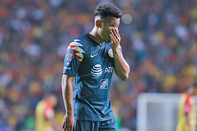 332138_Roger Martínez en partido con el América de México, en la Liga Mx del 2019.