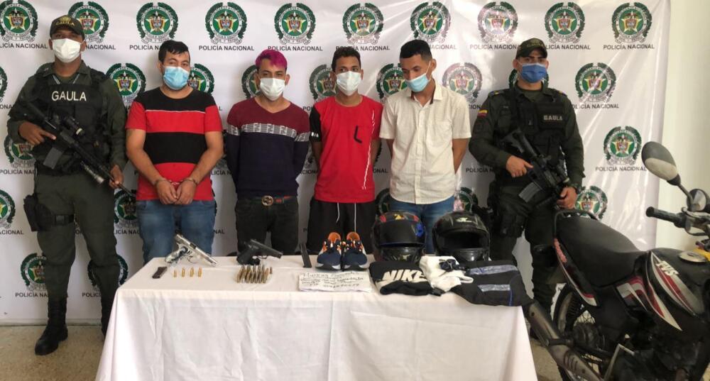 autores de atentado en Barranquilla con granada.jpeg