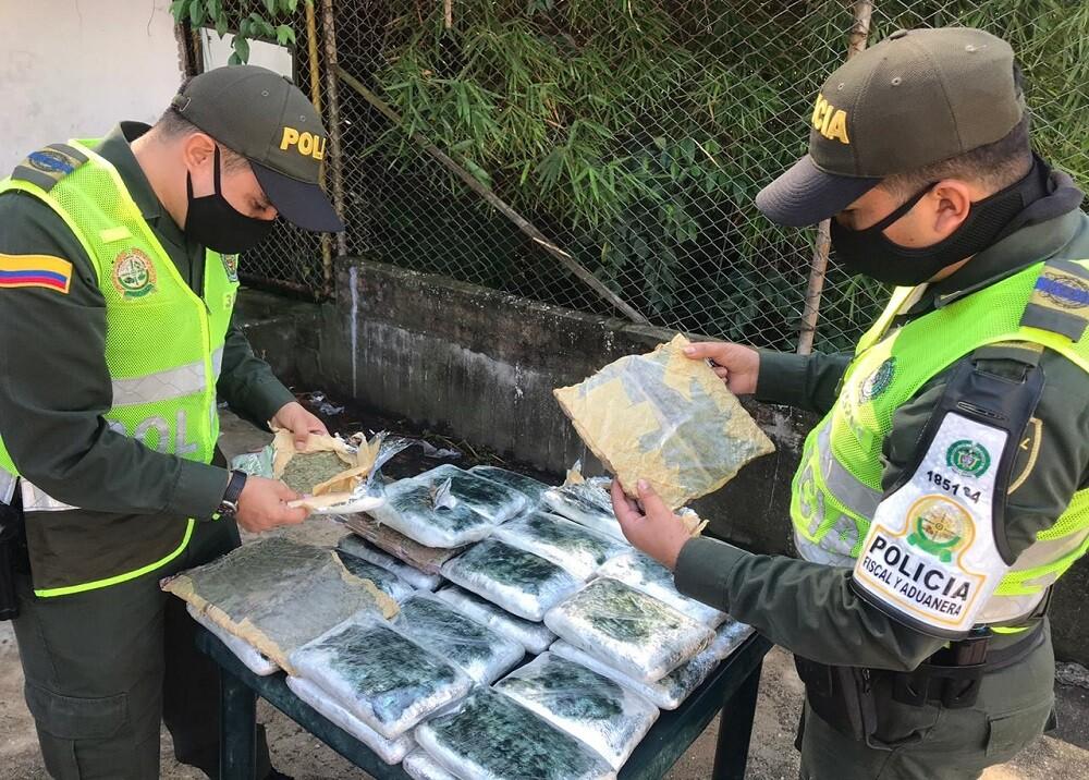 371871_BLU Radio. Incautación marihuana / Foto: Policía de Bucaramanga