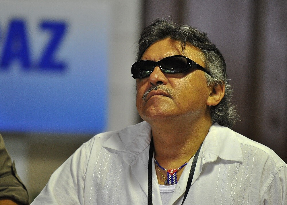 303933_BLU Radio. Jesús Santrich / Foto: AFP.