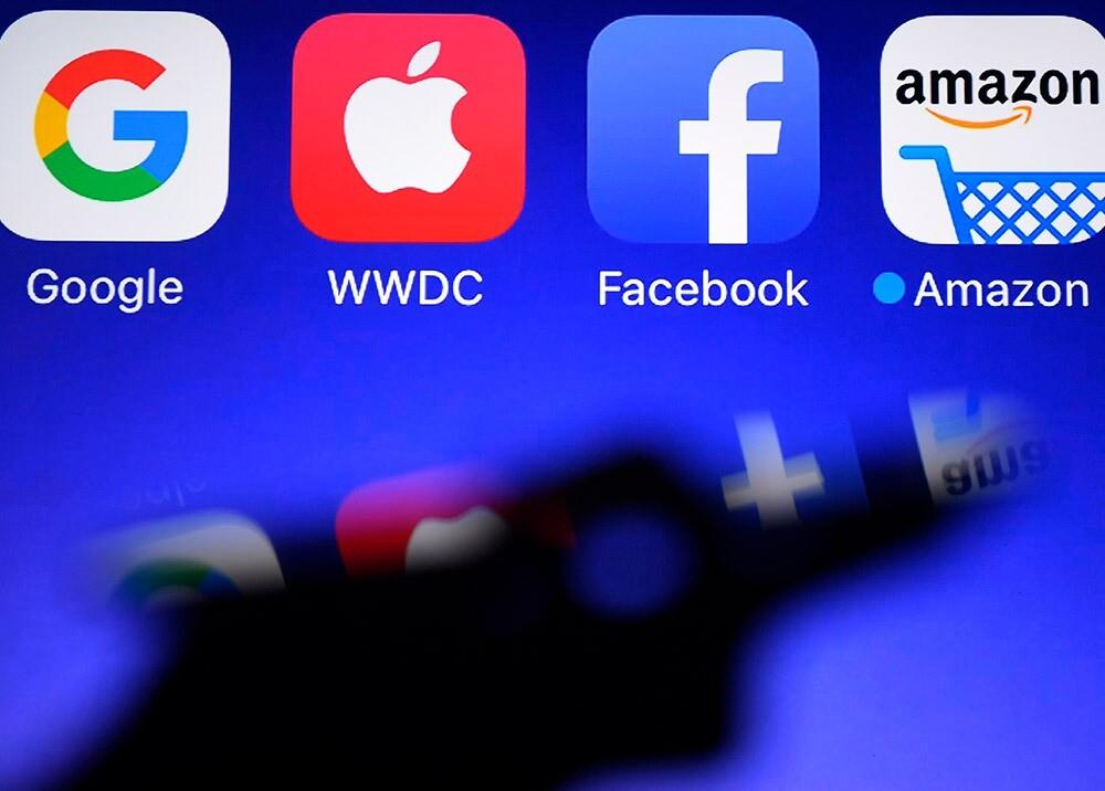 372489_Google, Apple, Facebook y Amazon // Foto: AFP