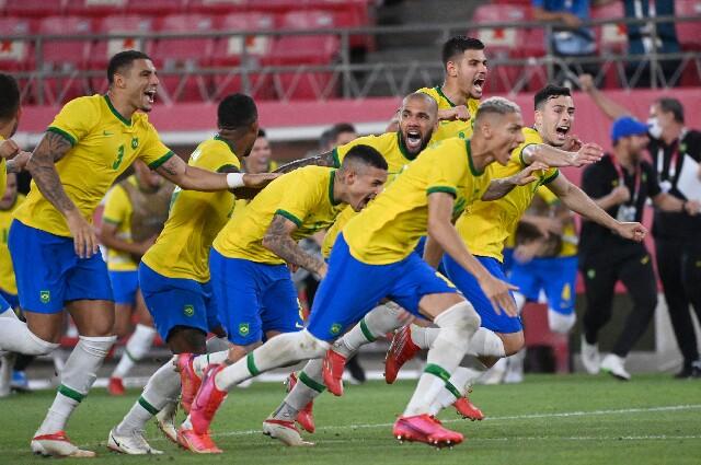 Brasil contra México, en los Juegos Olímpicos de Tokio 2020
