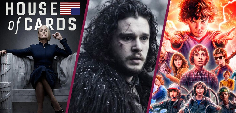 637381_Game of Thrones, House of Cards, Stranger Things // Netflix y HBO