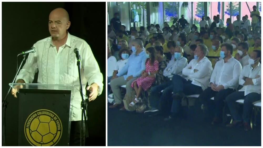 Inauguración de la sede deportiva de la FCF, en Barranquilla