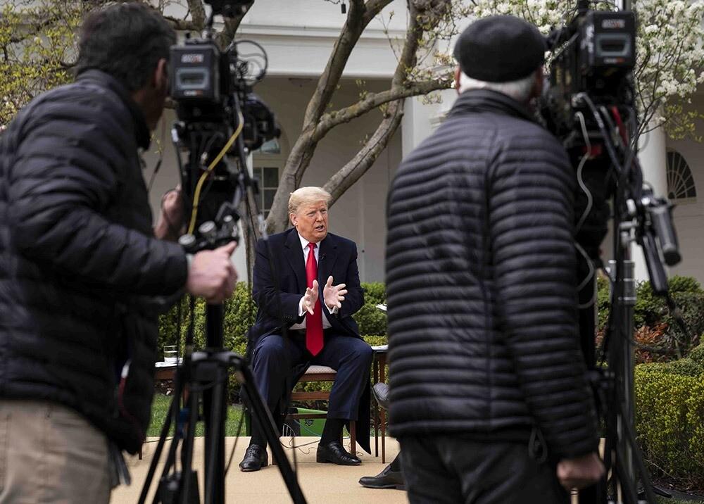 Donald Trump ante las cámaras de Fox News / AFP
