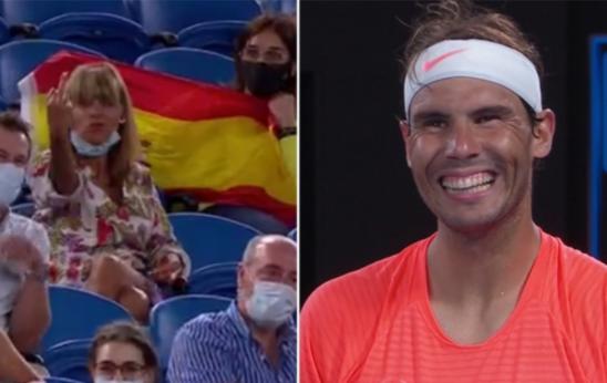 Rafael Nadal clasificó a la tercera del Abierto de Australia