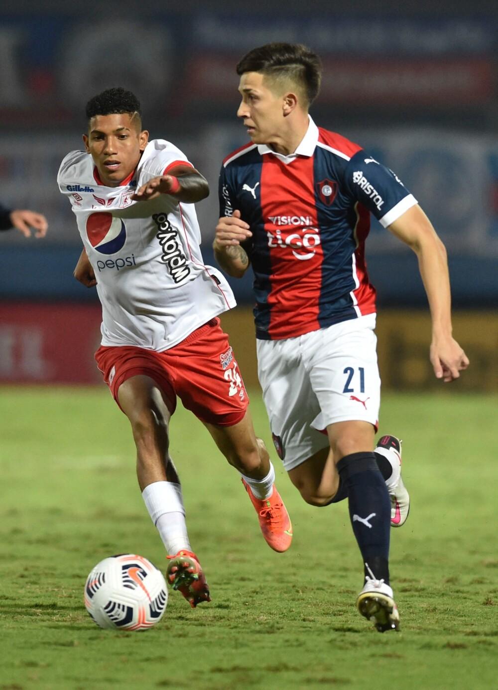 Luis Sánchez, jugador de América de Cali. AFP.jpg