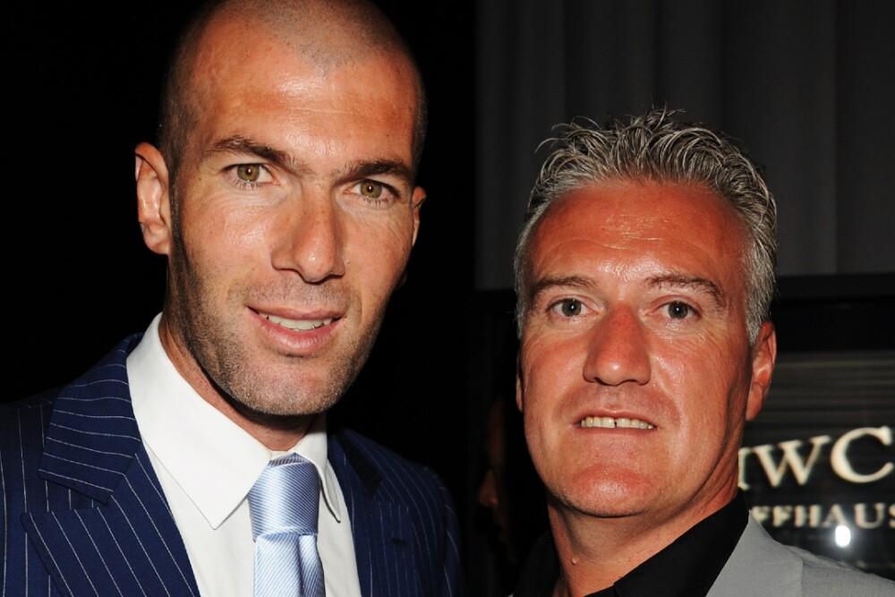 Zinedine Zidane Didier Deschamps 230121 Getty Images E.jpg